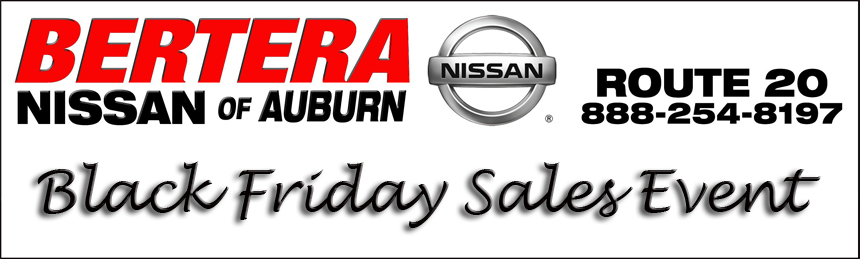 Bertera Nissan Black Friday Sales Event