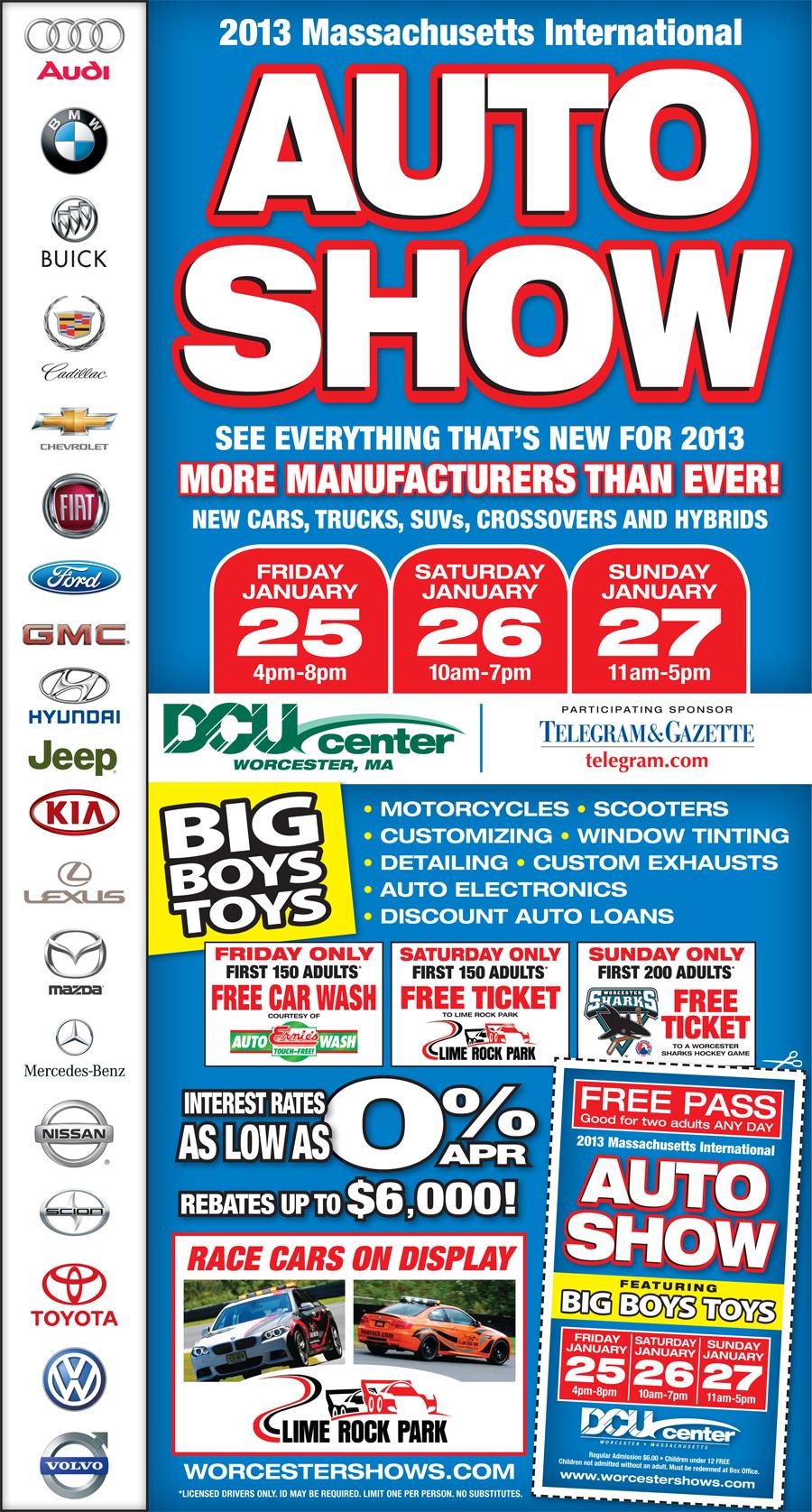 DCU Auto Show