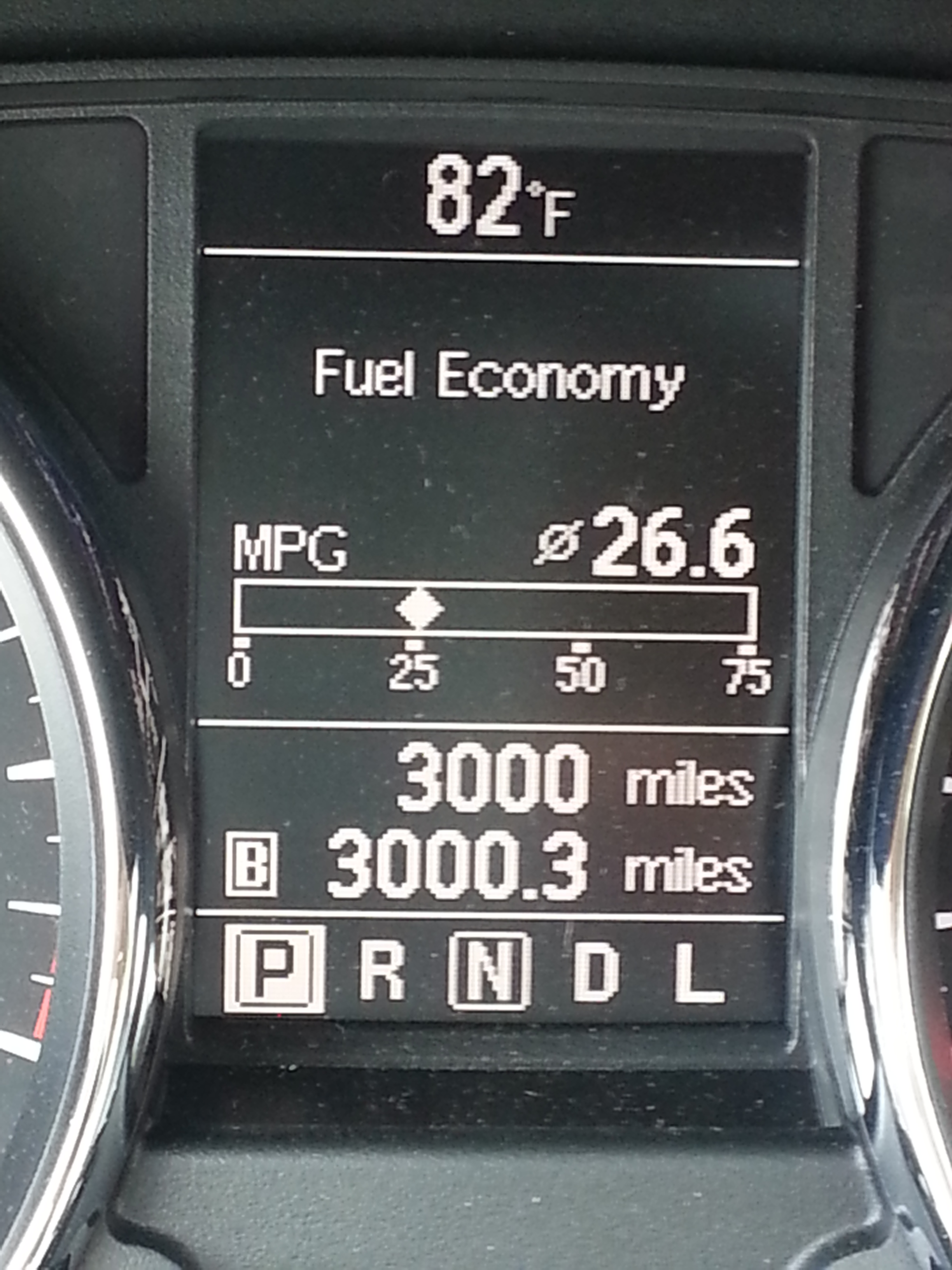 2013 Nissan Rogue Gas Mileage 26.6