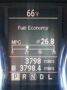 2013 Nissan Rogue Gas Mileage