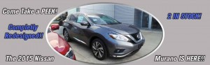 2015 Nissan Murano is here
